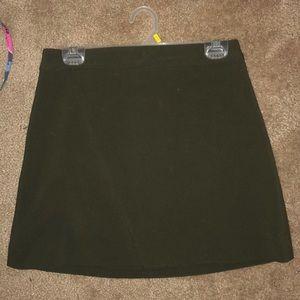 Express Green Short Skirt
